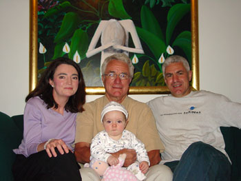 Malcolm with family in Australia.